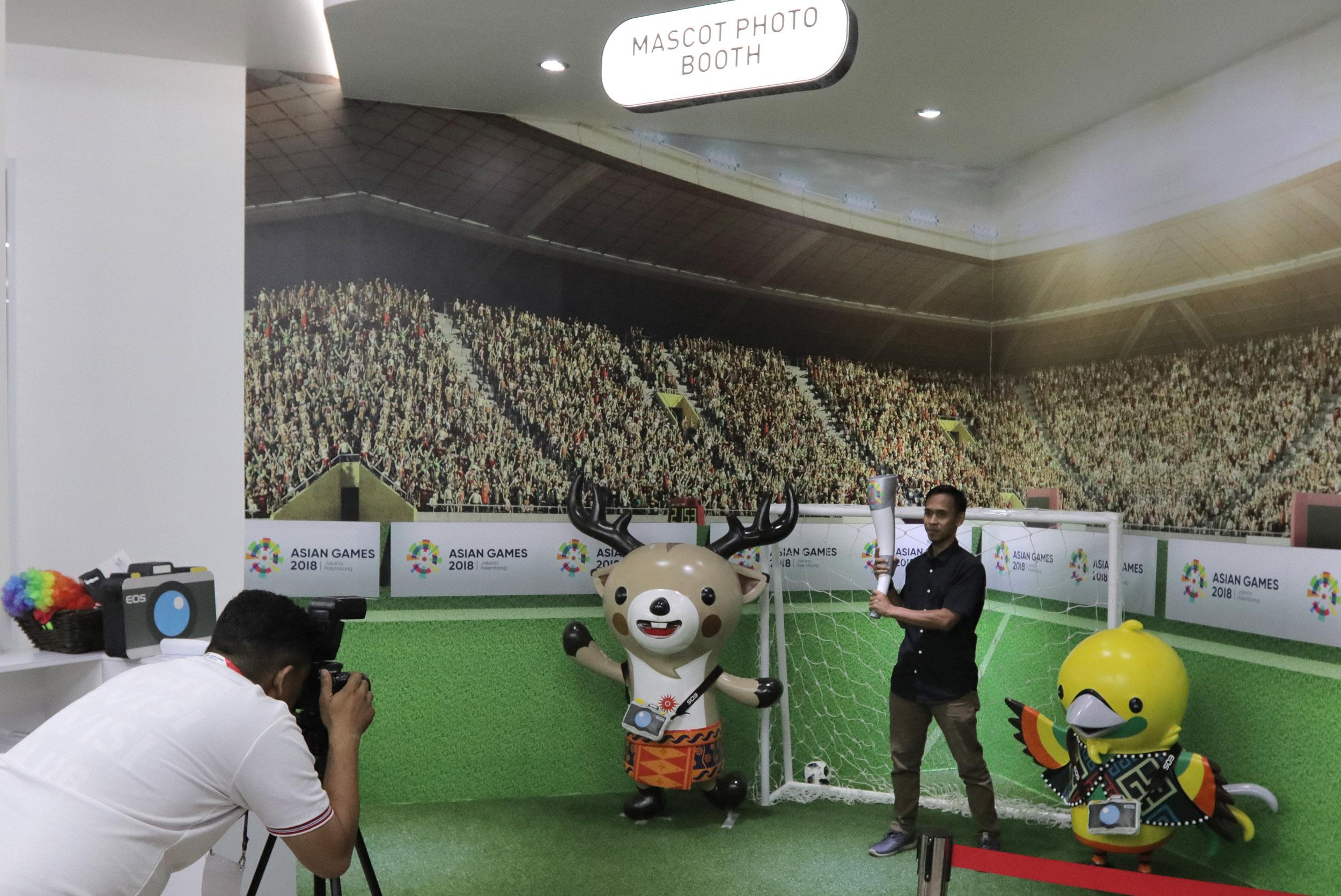 Wujud Dukungan Canon Meriahkan Asian Games 2018