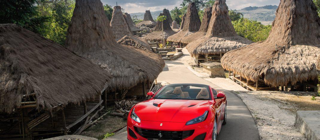 Kehadiran Ferrari Portofino di Tanah Sumba