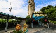 Patung Merlion Sentosa Island Akan Di Robohkan