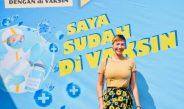 Wujud Dukungan Artis Asal Thailand Ikuti Vaksinasi  Di PT. SUMMIT ADYAWINSA INDONESIA